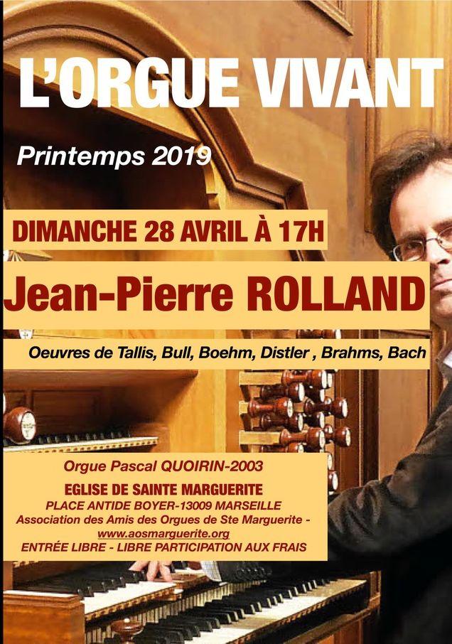 Récital d'orgue Jean-Pierre ROLLAND