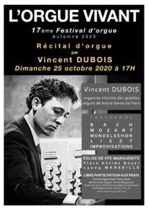 Récital Vincent DUBOIS